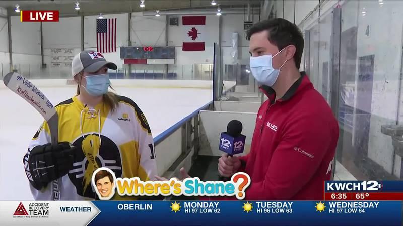 Where's Shane? Wichita Ice Center