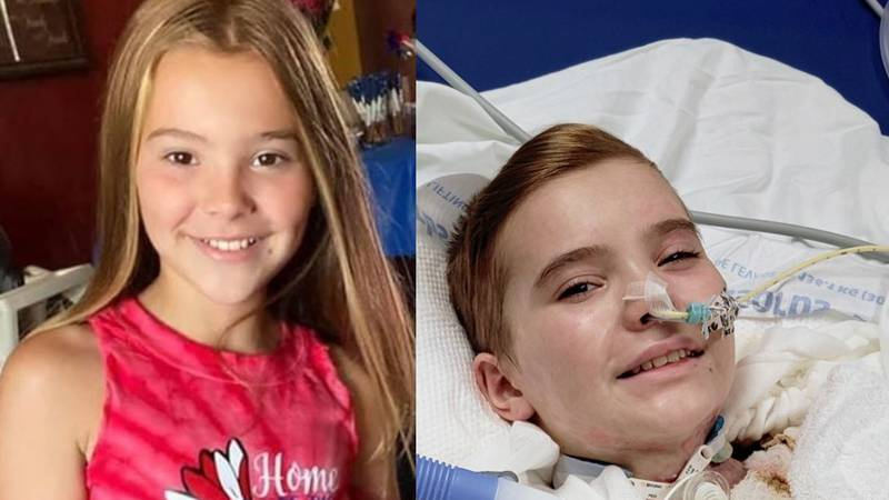 11-year-old Priscilla Fowler, of Goddard is continuing her recovery in the hospital after an...