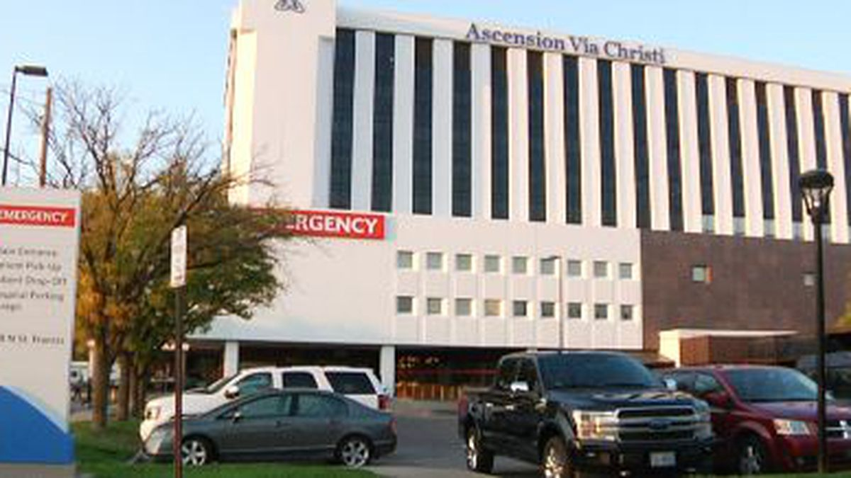 Some hospitals in Sedgwick County are seeing an increase in COVID-19 patient hospitalizations...