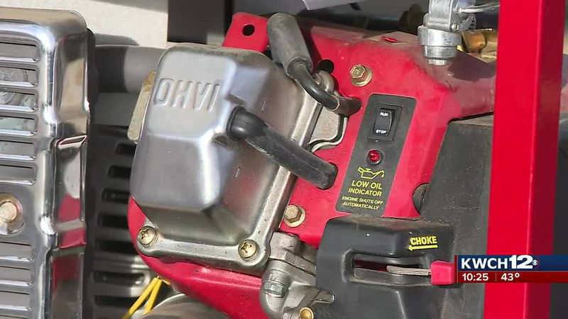 Evergy gives tips on safely using generators