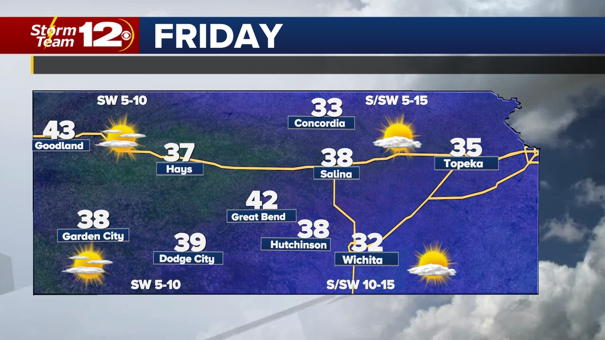 The February thaw kicks in Friday and into the weekend.