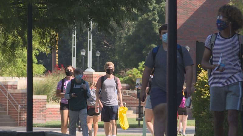 WSU students are adjusting to a new experience in higher ed.