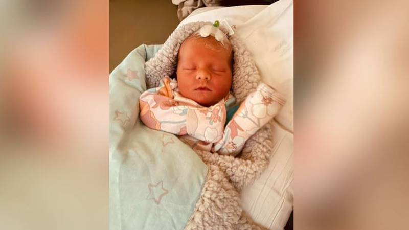 Hensley Hostetler was born in a pickup truck on the way to the hospital earlier this week. Her...