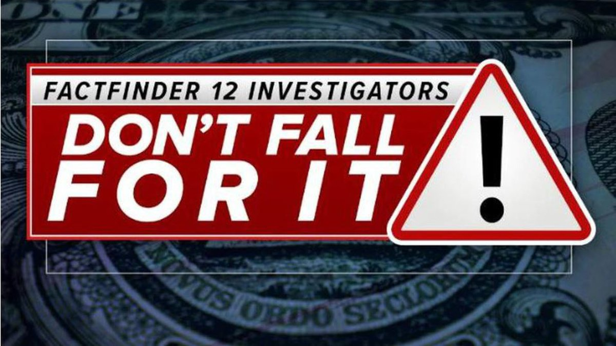 FactFinder 12 Investigators: Don't Fall For It