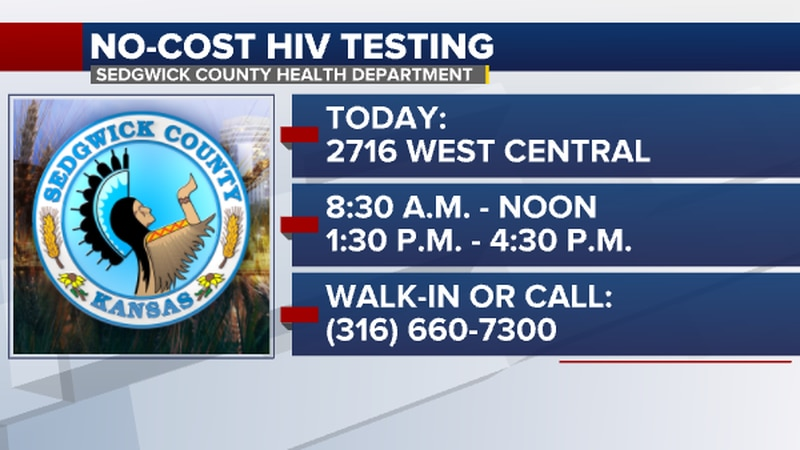 The Sedgwick County Health Department is offering free HIV testing for National HIV Testing Day...