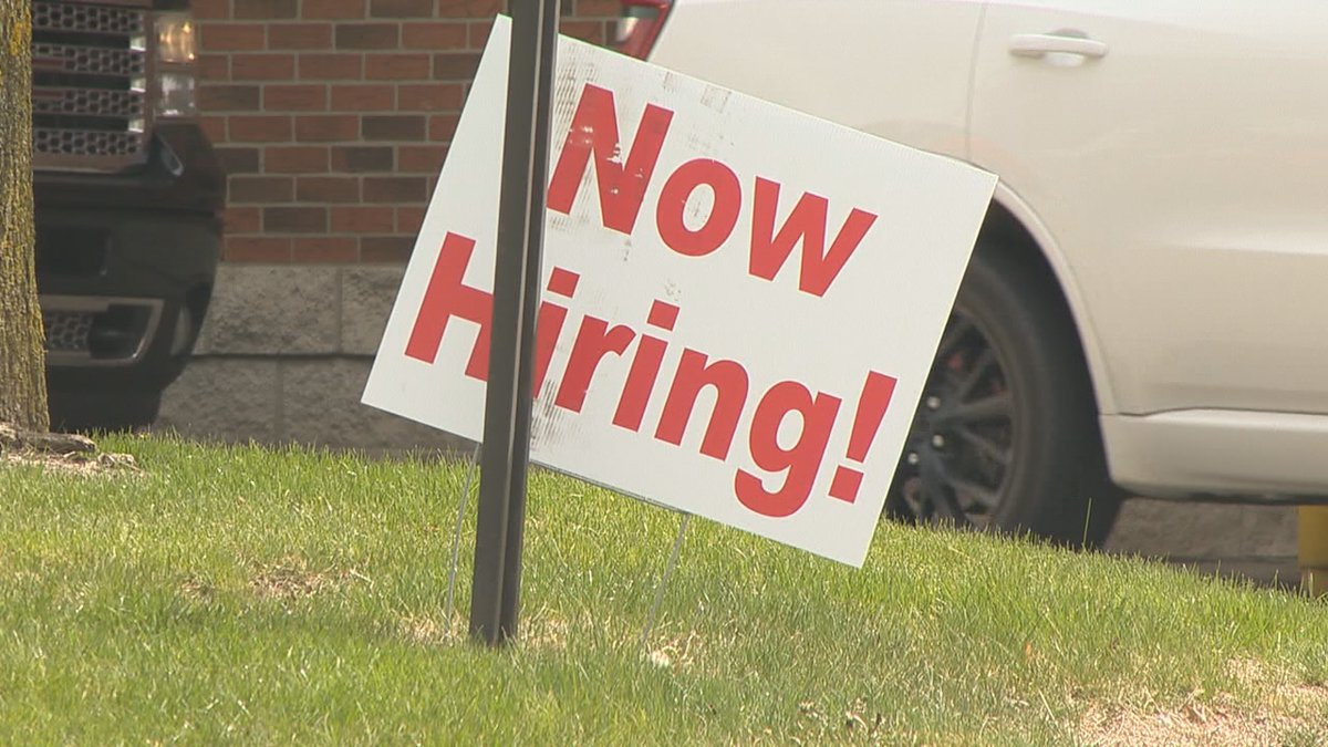 Even though people say they're looking for work some businesses say those applicants aren't...