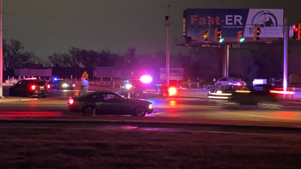 A person has died in a single motorcycle accident after fleeing Sedgwick County deputies south...