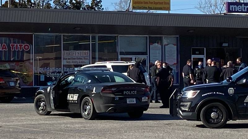 Wichita police responded to a shooting Thursday afternoon at Hydraulic and Wassell.