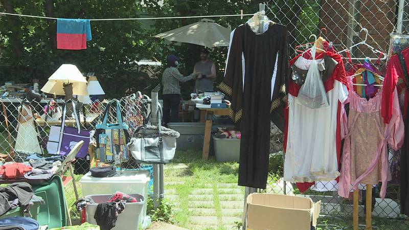 It's prime season for garage sales and also donations at thrift stores.