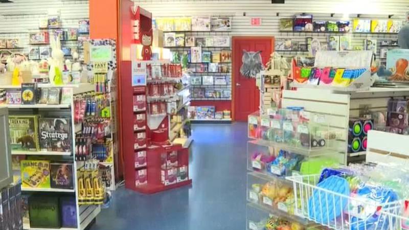 Look inside a toy store in Wichita, Kansas