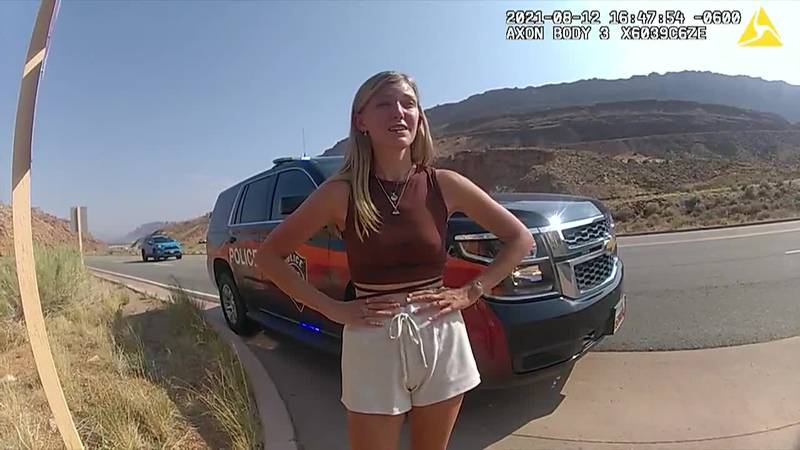 Clips from bodycam footage gathered by the Moab Police Department show moments of an...