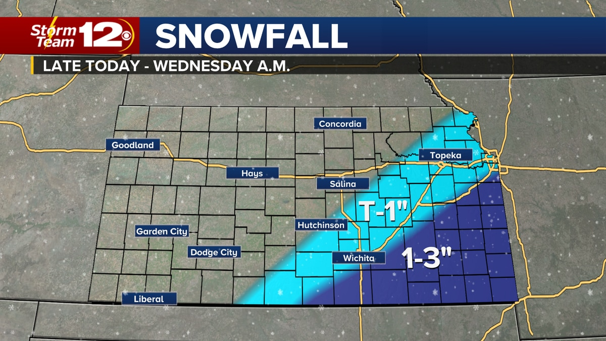 Meteorologist Jake Dunne says it is another dangerous start to the day