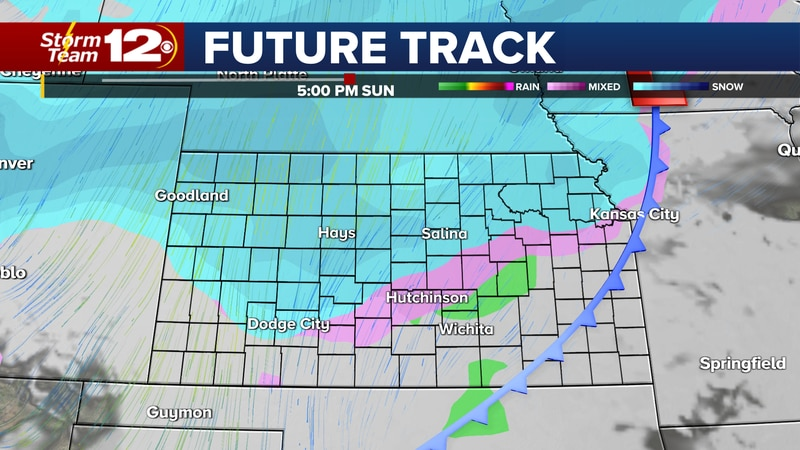 Cold arctic air has taken over the central plains and by the end of the weekend, we could get...