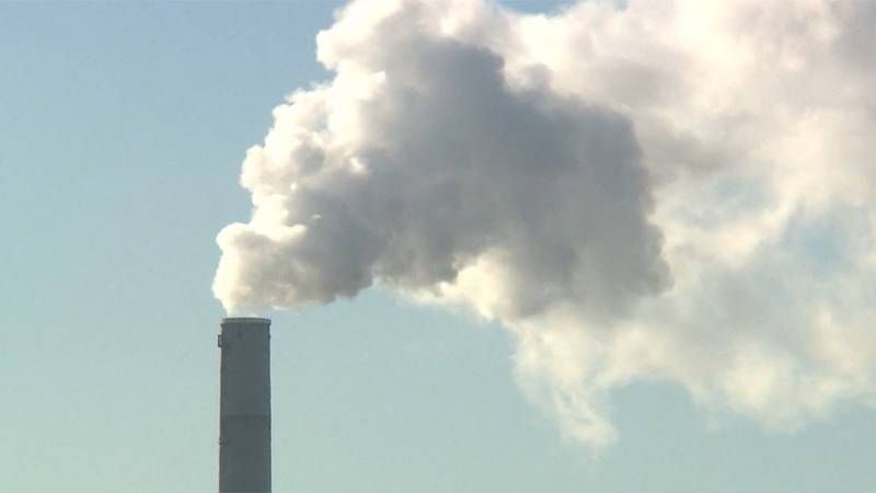 Human-incurred carbon dioxide emissions, which result mostly from burning fossil fuels like oil...