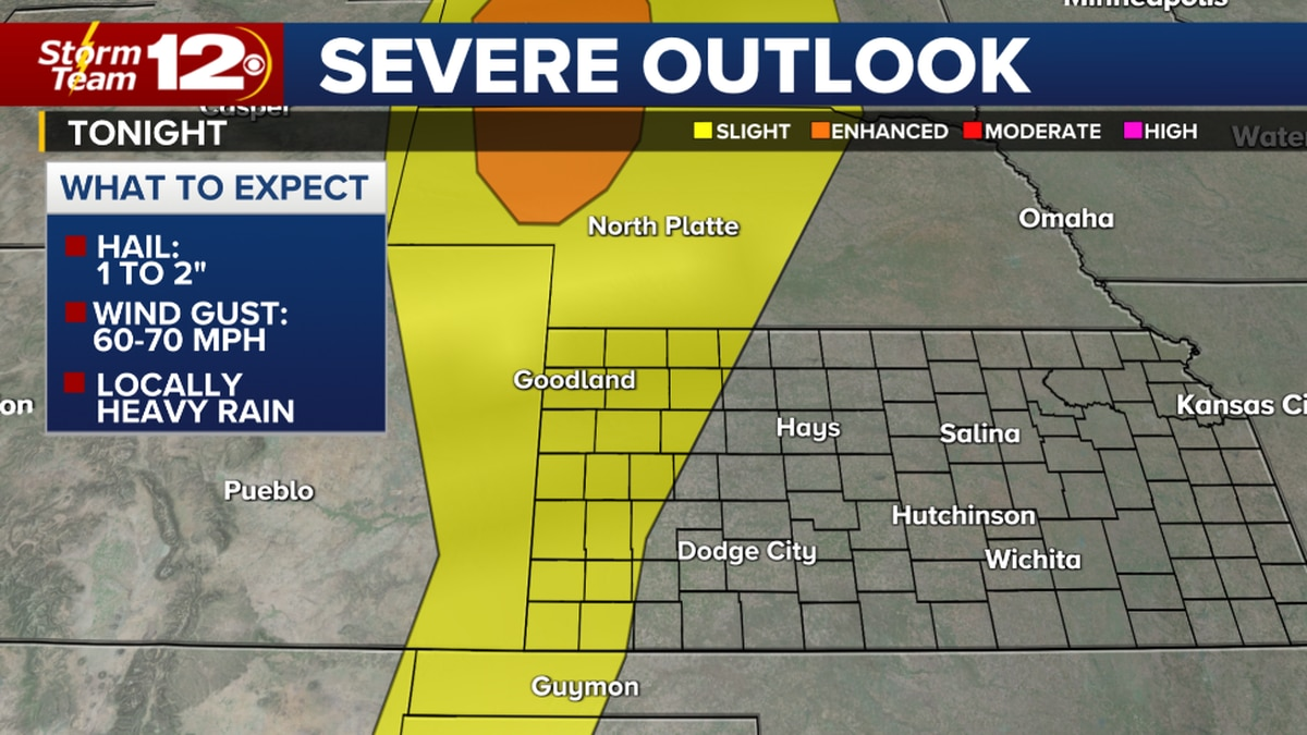More storms today, some severe