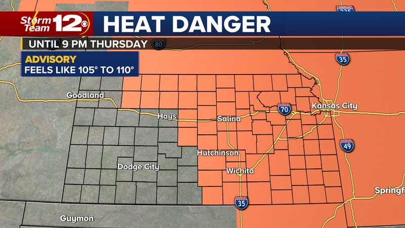 Meteorologist Jake Dunne says it is a warm and muggy morning across Kansas and it will morph...