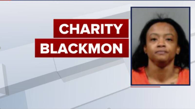 Charity Blackmon faces charges including first-degree murder after hitting a man with her...