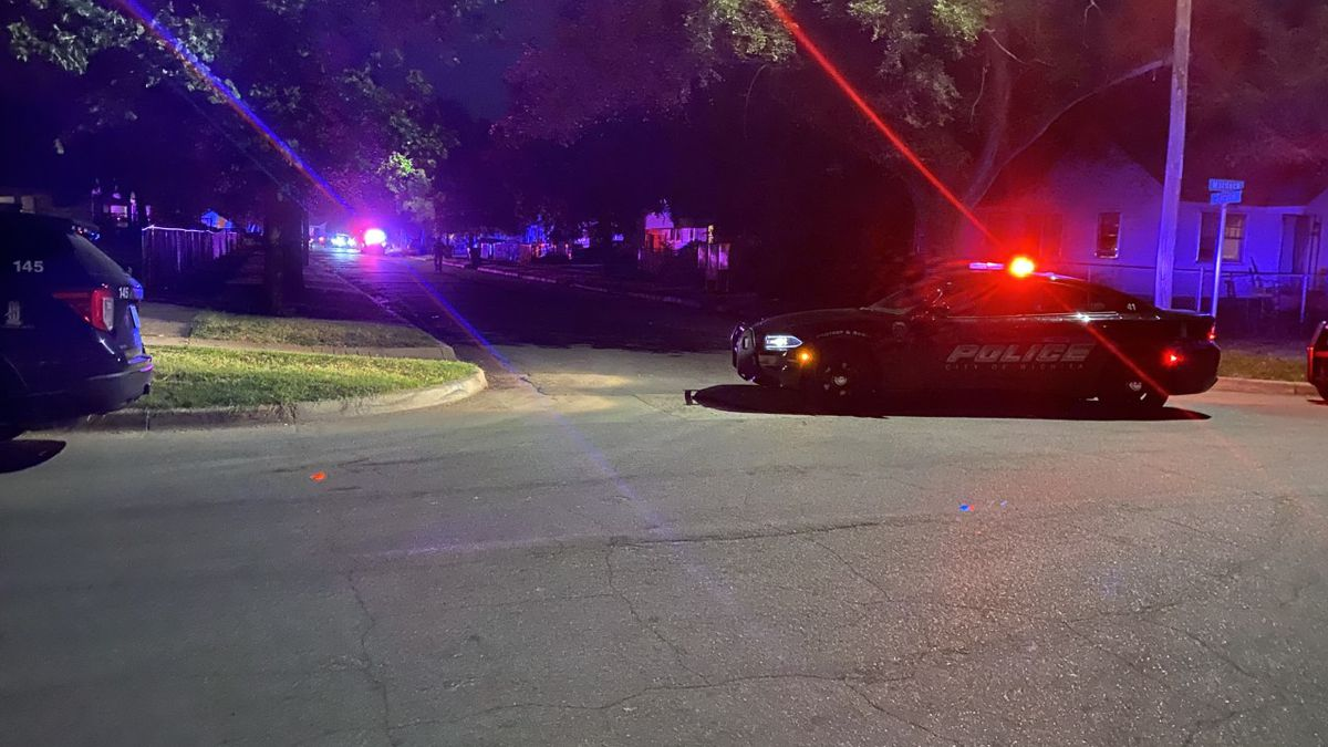 A woman was injured in a Tuesday night shooting reported in the 800 block of North Spruce in northeast Wichita.