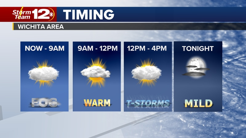Meteorologist Jake Dunne says yesterday's isolated showers/storms are gone, but one or two will...