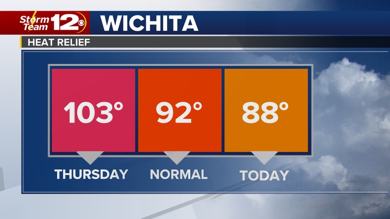 In exchange for the cooler conditions, we will have to dodge more showers and storms,...