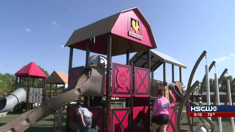 New park in Hays designed with emphasis on accessibility for people with disabilities