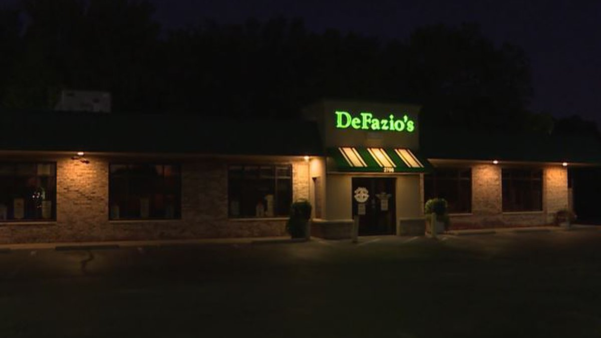 DeFazio's, a north Wichita Italian restaurant, is closed after nearly 40 years in business.