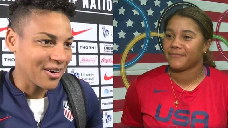 Adrianna Franch and Kelsey Stewart will represent Kansas on U.S. Olympic teams in Tokyo.