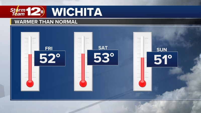 Milder weather with snow melt into the weekend.