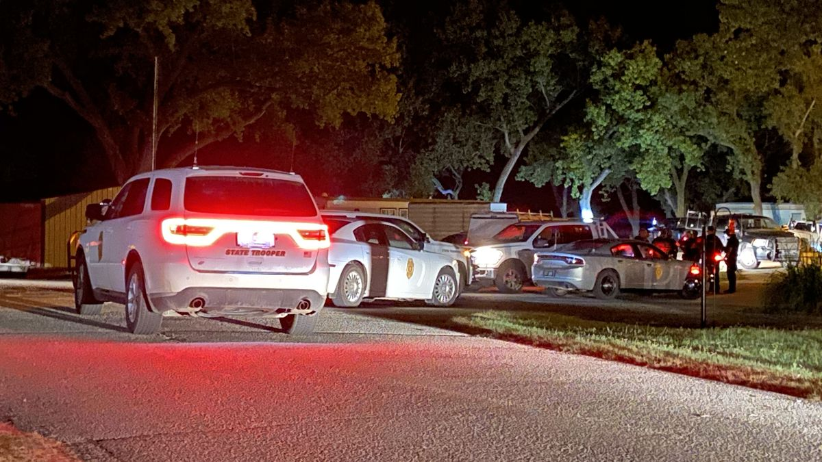 Law enforcement arrested two people in Ellsworth County after a brief car chase that ended in a crash and the suspects breaking into a home at Kanopolis Lake.
