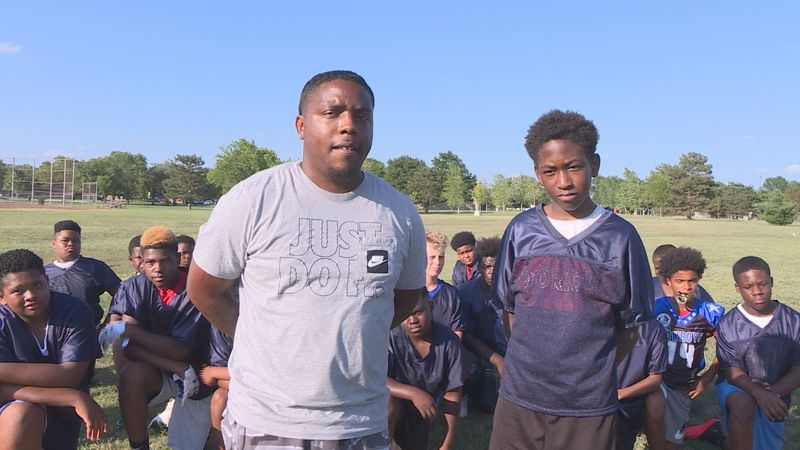 Youth football coach AJ Bohannon helped a 12-year-old boy who broke into his car by offering...
