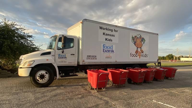 Kansas Food Bank food truck