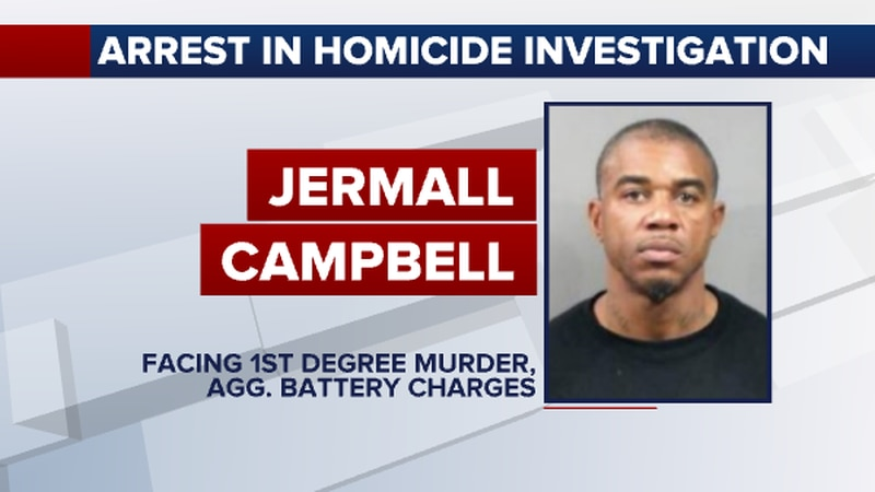 Jermall Campbell was arrested for first-degree murder, aggravated battery, gambling, and...