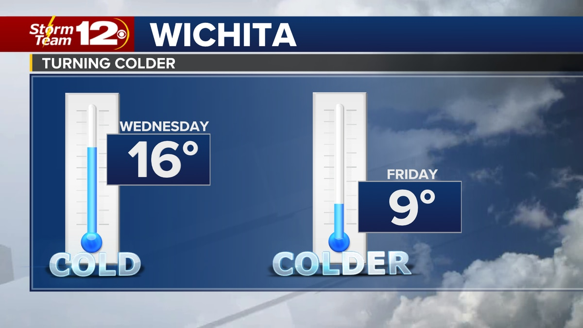 From cold to colder late week