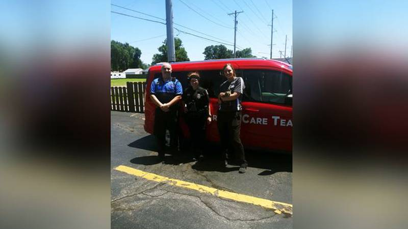 Wichita police said earlier this week, its ICT-1 response team assisted with the rescue of a...