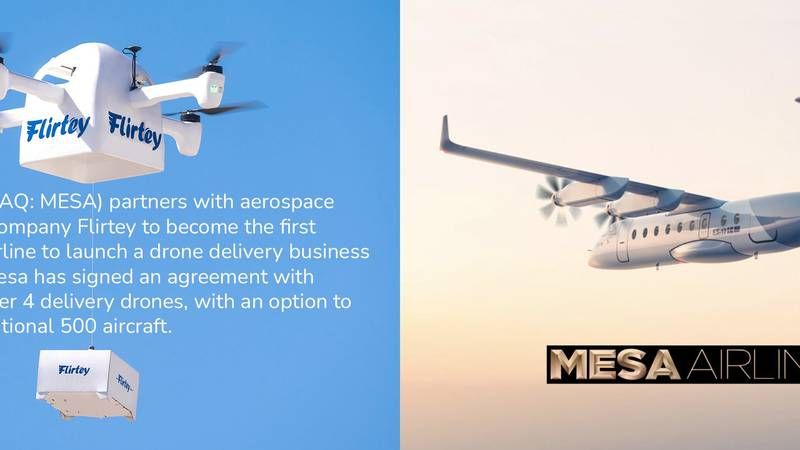 Drone Delivery is Now a Reality // Mesa and Flirtey
