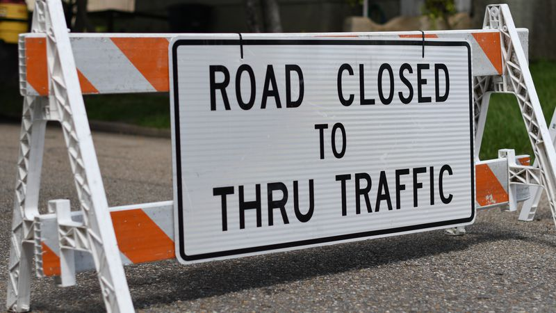 FILE PHOTO: Road Closed