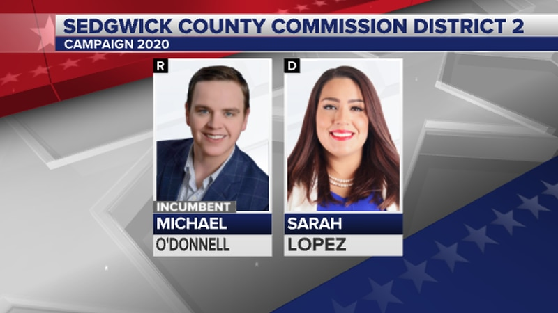 Incumbent Michael O'Donnell faces challenger Sarah Lopez in the bid to represent south Sedgwick...