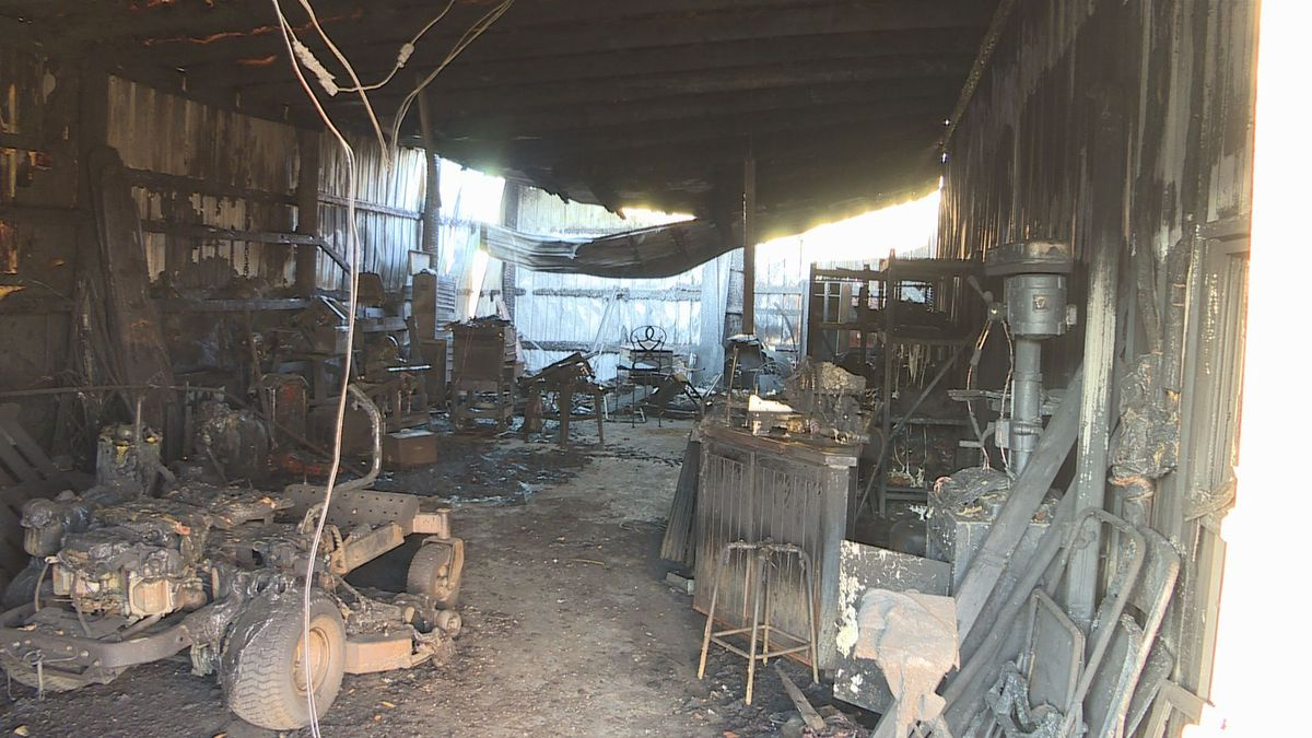 Homes in Harvey County largely untouched after what's being called the Wheat State Fire burned...