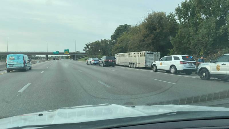 A woman in her 20s died of a self-inflicted gunshot would on I-135