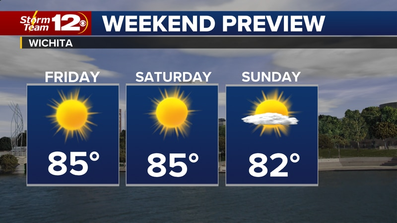 Sunshine and warm temps will take over this weekend across the state.