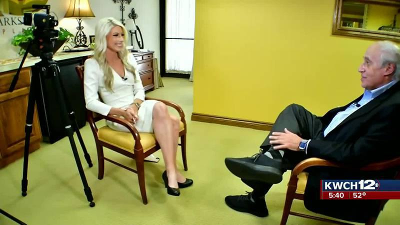 Former Ag secretary Dan Glickman talks with Brityne Rucker