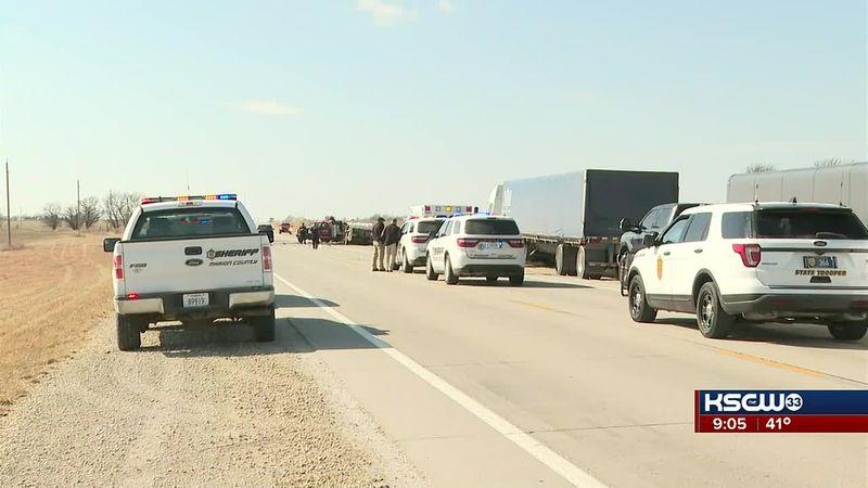 Marion County deadly crash scene