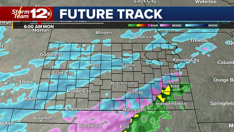 Winter weather will take over the state over the next few days, bringing snow, ice, and cold...