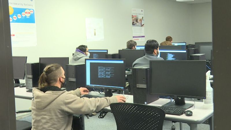 WSU Tech IT program students