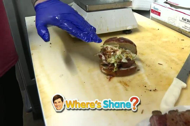 Slaps BBQ sandwich