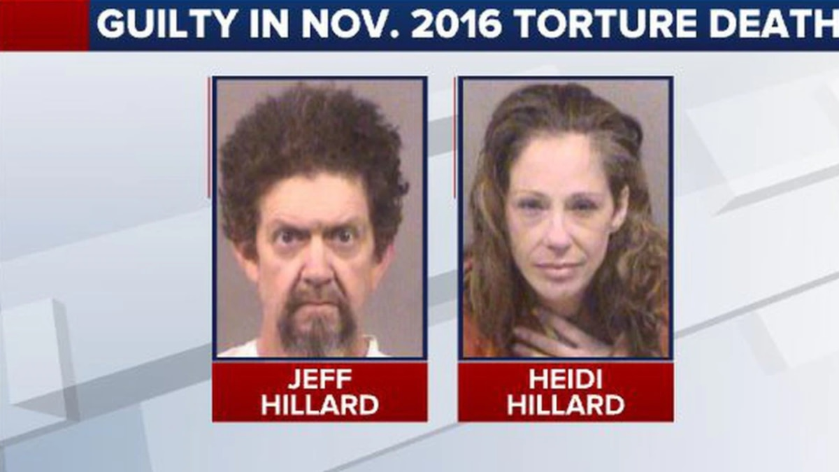 Heidi Hillard and her husband, Jeff, were convicted of participating in the November 2016...