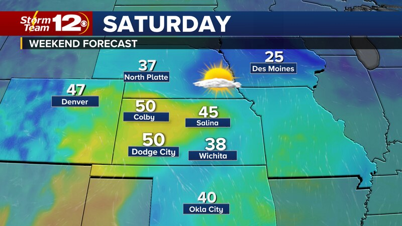 Wichita finally climbed above freezing on Friday and that warming trend will continue into the...