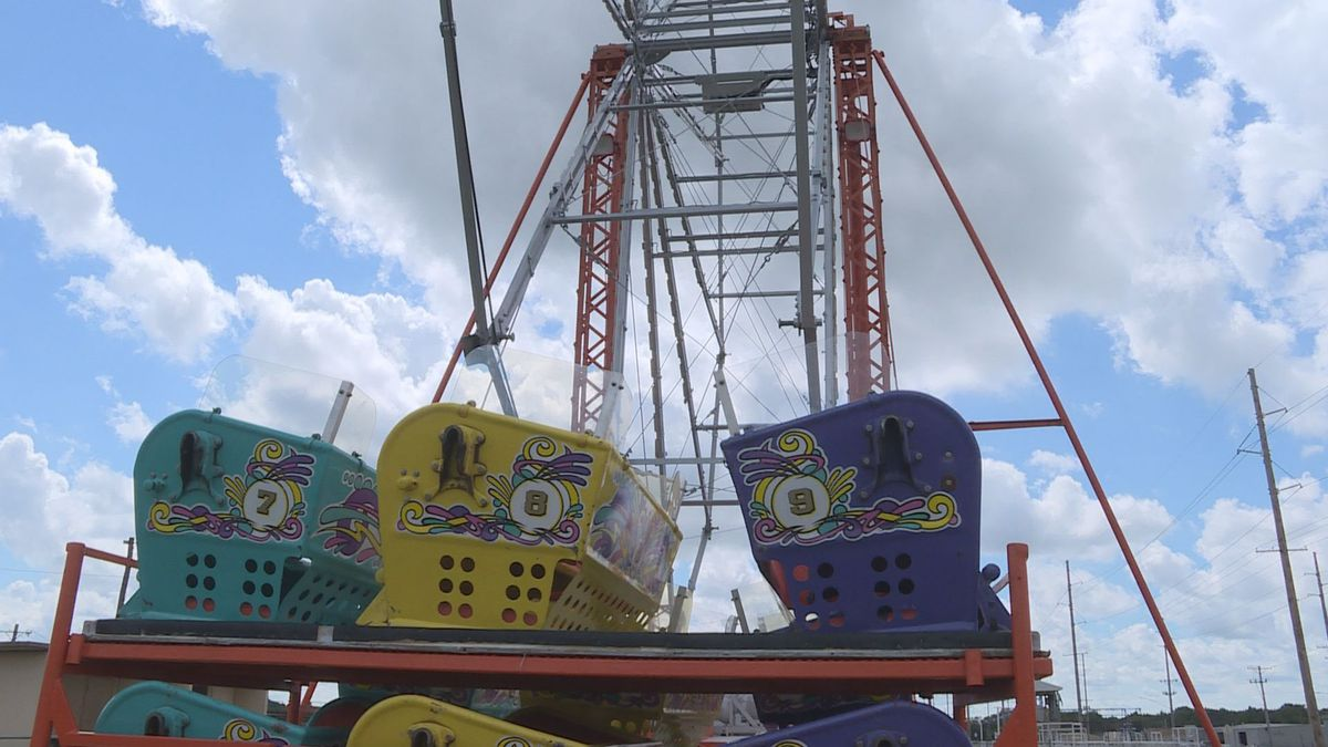 The Harvey County Fair is scaled back in 2020, with many of it's events and exhibits canceled but the carnival and fair food is still on.