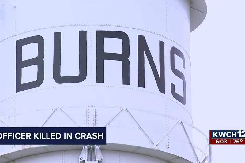 Burns police officer killed