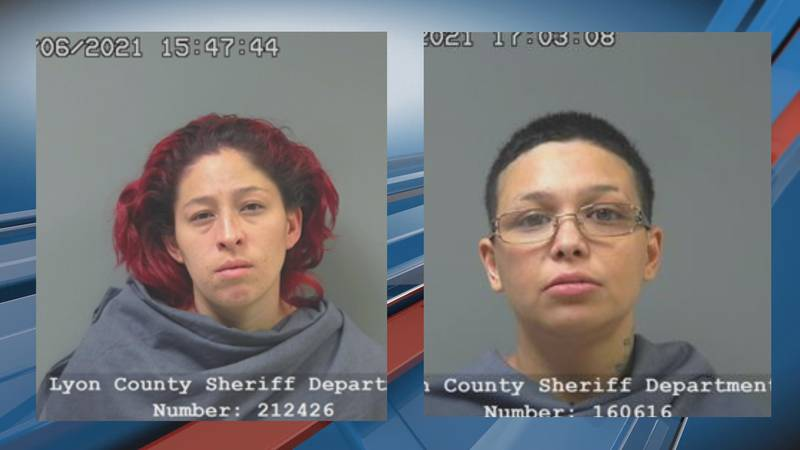 Mariah Lopez, left, and Analysa Tamez face charges in connection with a hit-and-run collision...